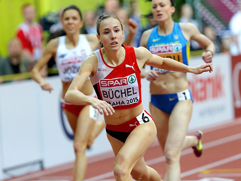 Selina Büchel verbessert Schweizer Uralt-Rekord über 800 m
