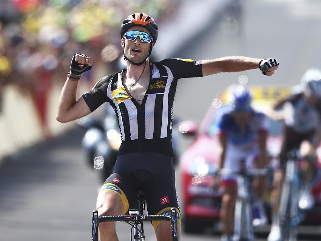 Steve Cummings gewinnt die 14. Tour-Etappe