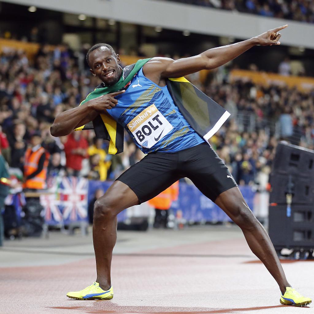 Bolt läuft zweimal 9,87 Sekunden
