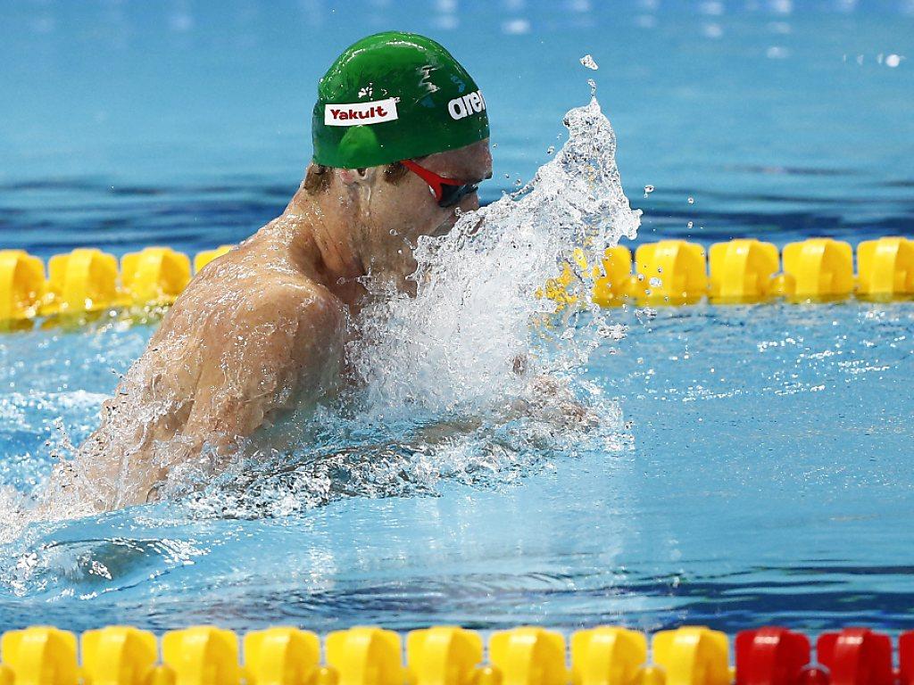 Van der Burgh und Peaty mit Weltrekord-Duell über 50 m Brust