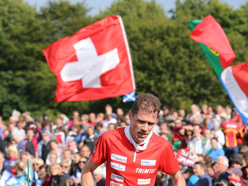 Die Schweizer Männerstaffel zeigt einen Goldlauf