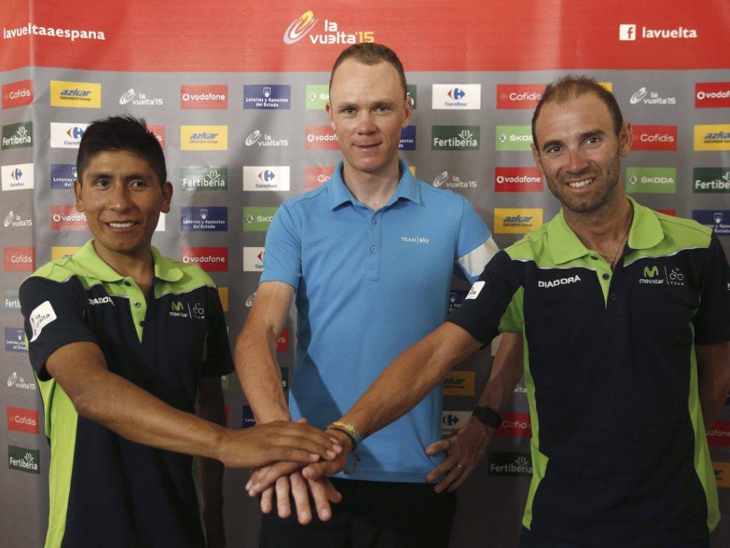 Neuauflage des Duells Froome gegen Quintana an der Vuelta