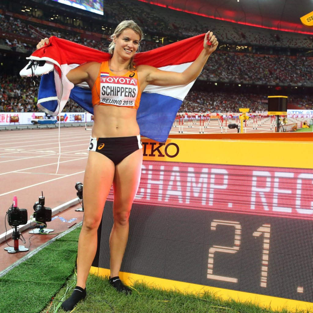 Dafne Schippers Weltmeisterin über 200 Meter