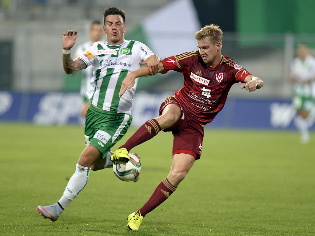 Kukuruzovic schiesst Vaduz zum Sieg gegen St.Gallen