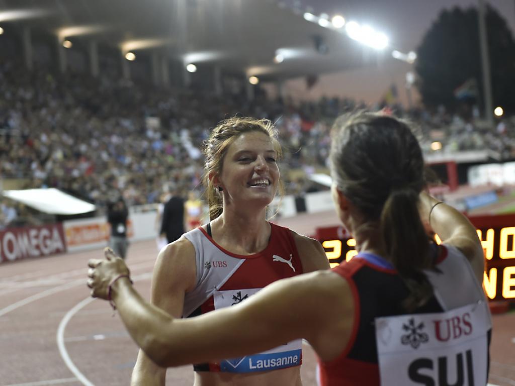 Lea Sprunger läuft in Zürich letztmals Staffel