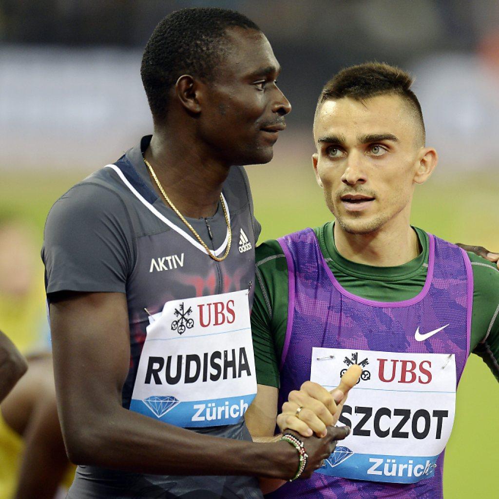 800-m-Läufer David Rudisha  kassiert eine Niederlage