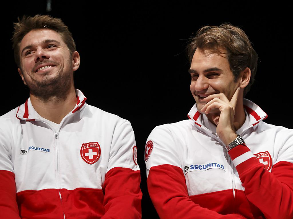 Wawrinka und Federer wollen eine 2:0-Führung gegen Holland