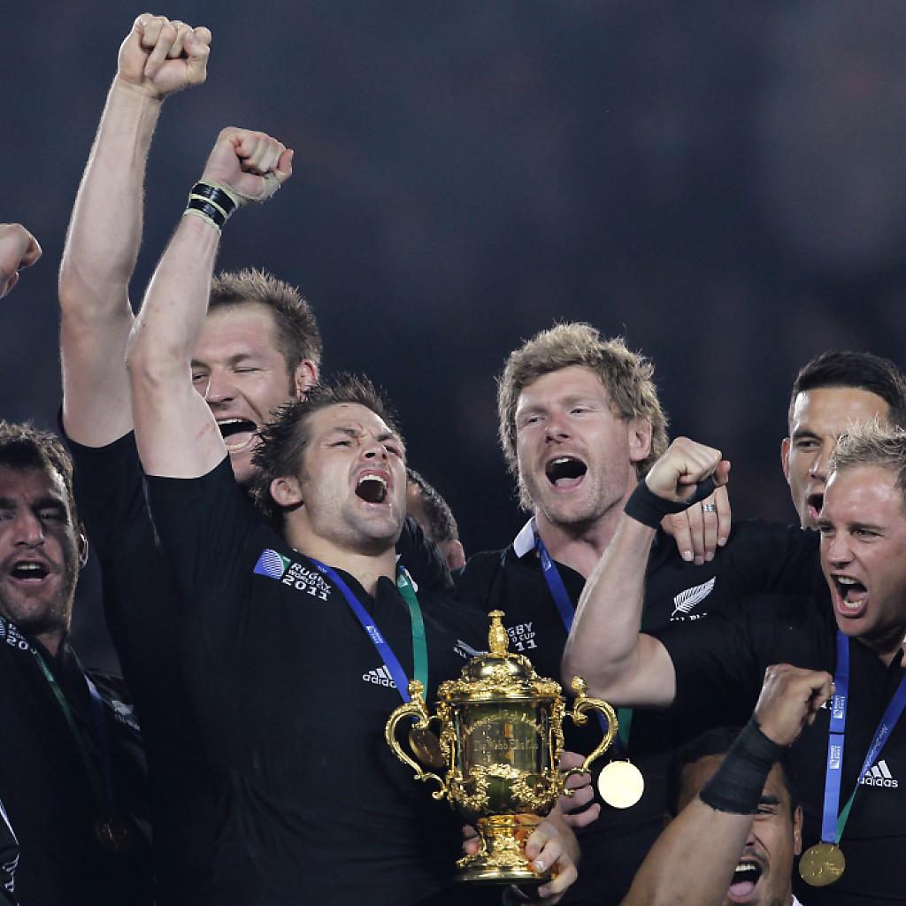 Alle gegen Neuseeland an Rugby-WM