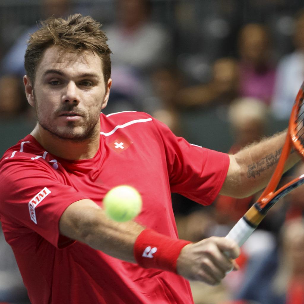 Federer bringt die Schweiz 2:0 in Führung