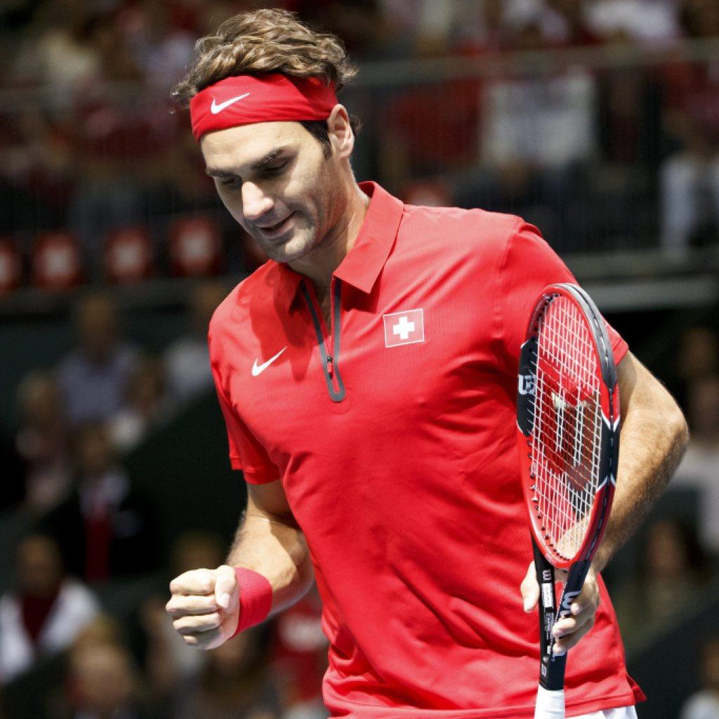 Schweiz bleibt nach Federers Sieg in der Weltgruppe