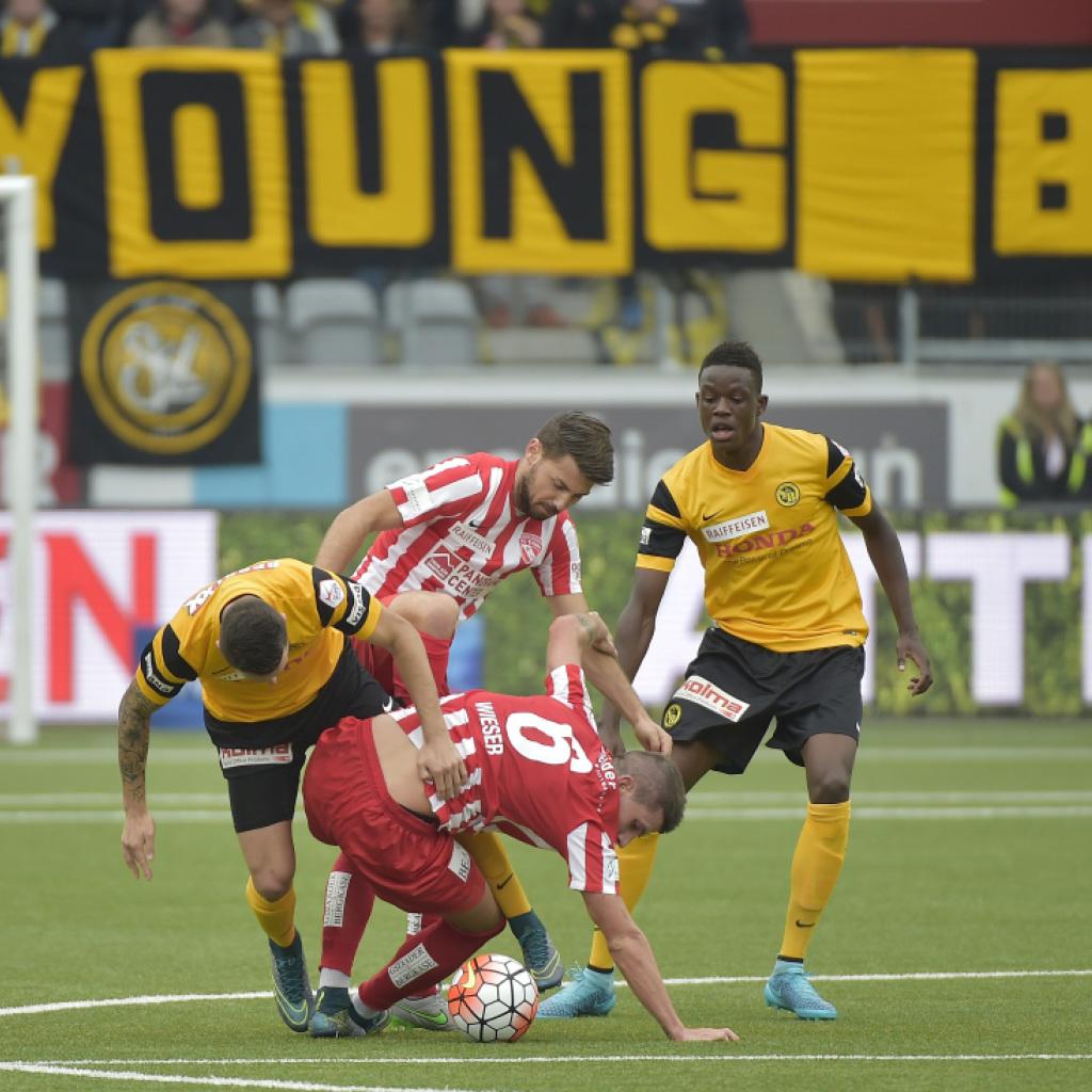Hütters Young Boys gewinnen auch das Derby