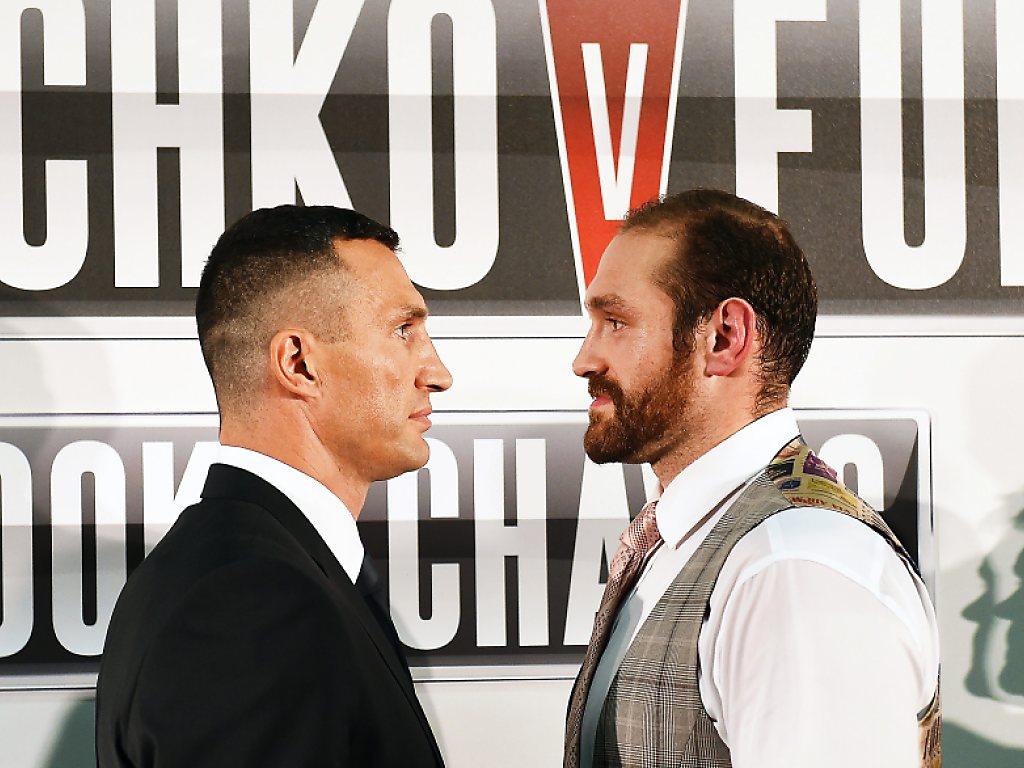 Klitschko gegen Fury am 28. November
