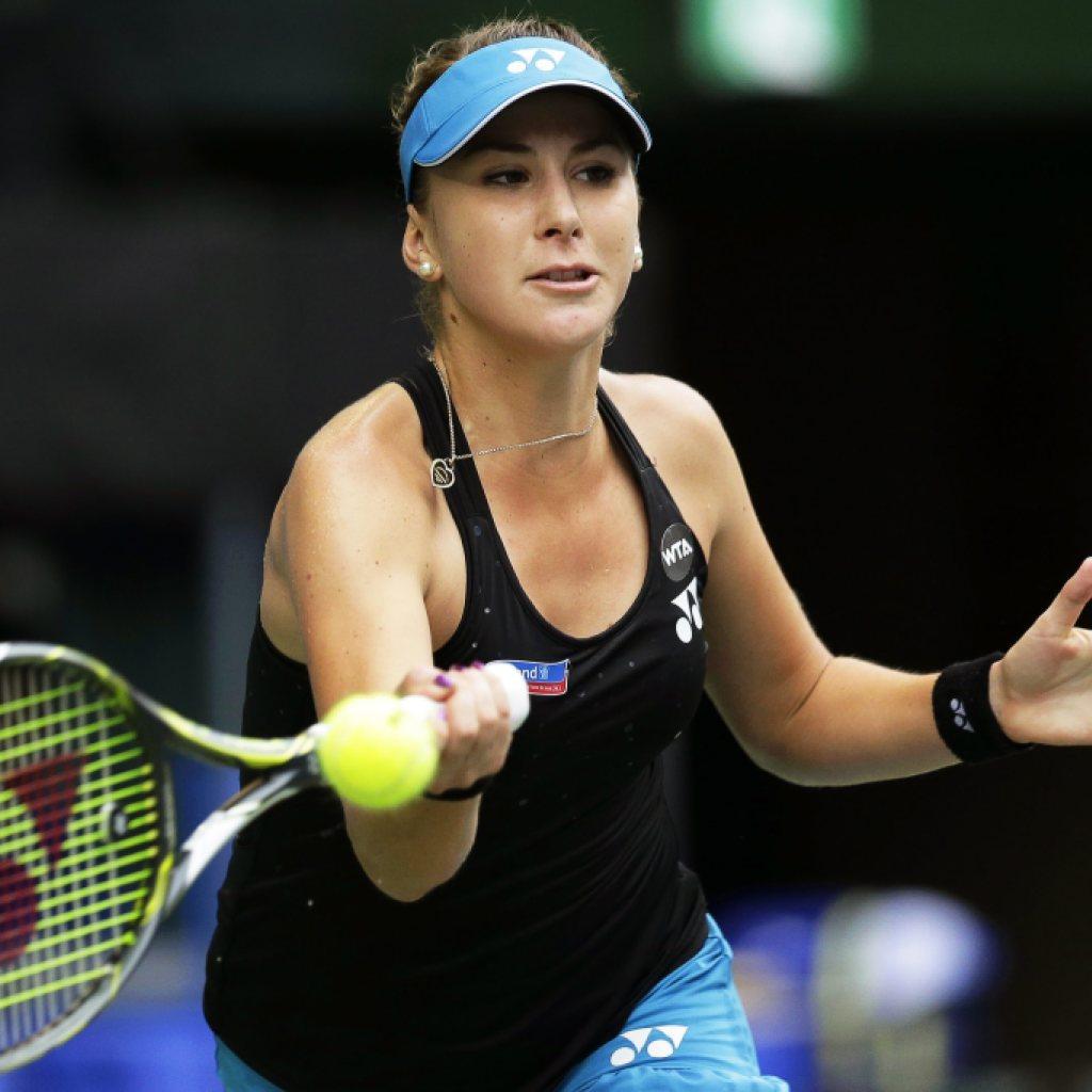 Belinda Bencic' erkrampfter Erstrundensieg