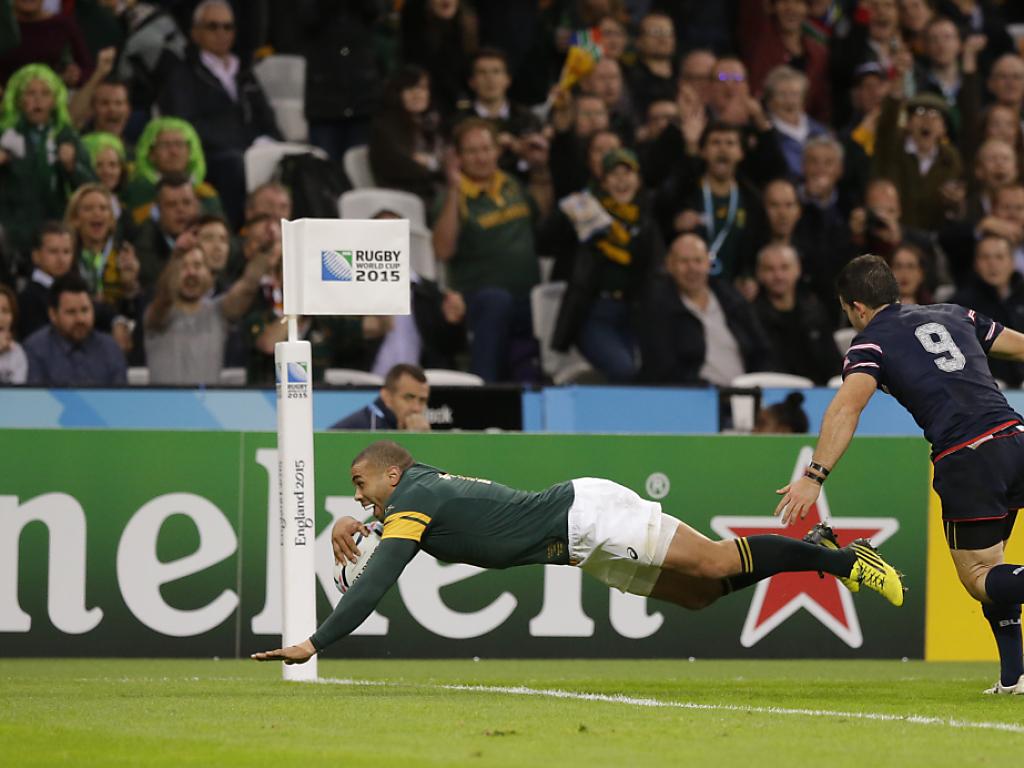 Südafrika mit 64:0-Sieg gegen die USA im WM-Viertelfinal