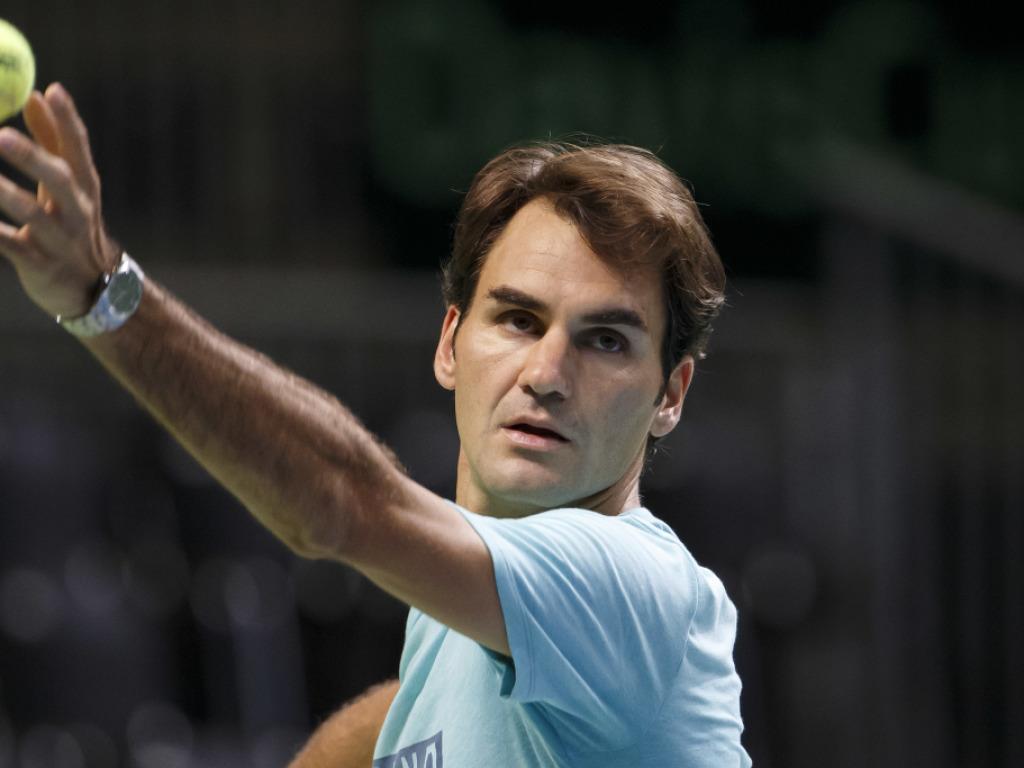 Federer mit vollen Batterien in die Schlussphase