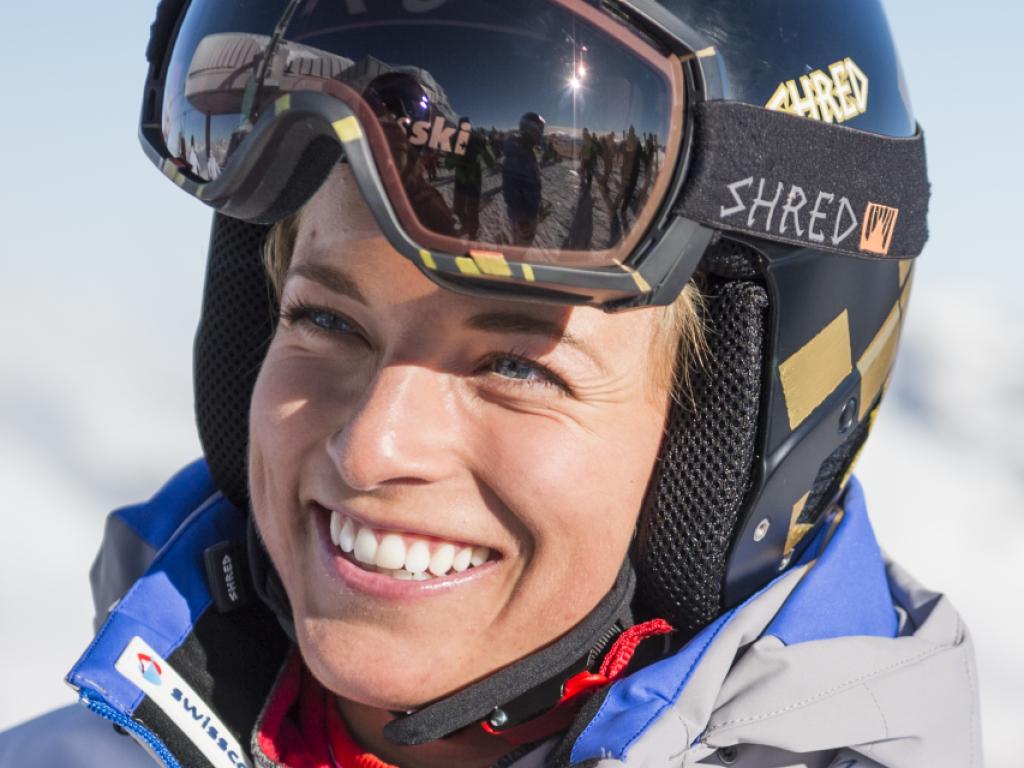Lara Gut zum Saisonauftakt in Sölden Vierte