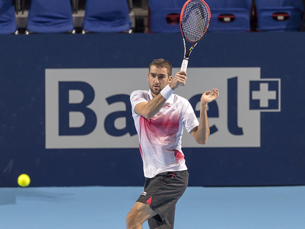 Roger Federer in drei Sätzen im Viertelfinal