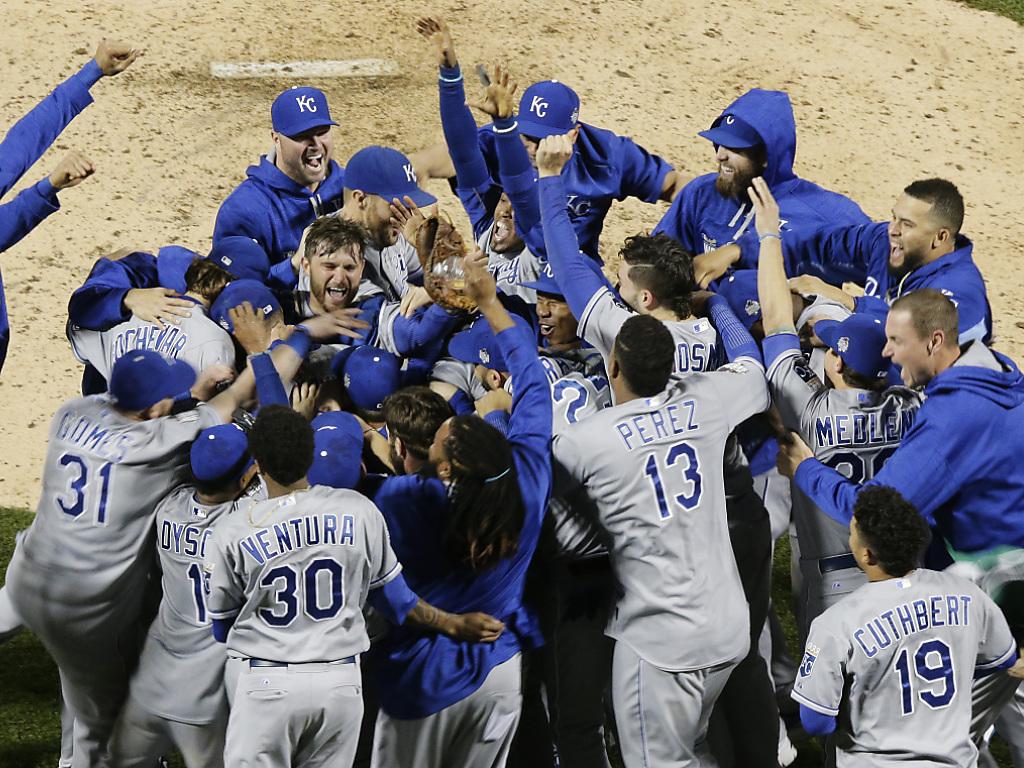 Kansas City erstmals seit 1985 wieder MLB-Meister