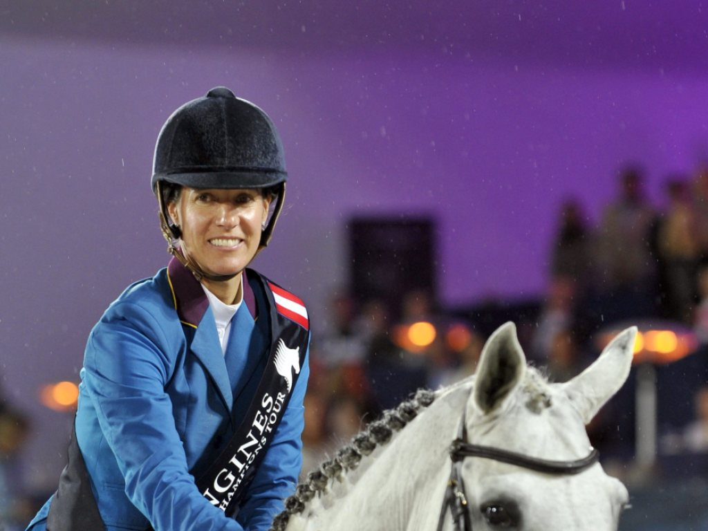 Portugiesin Diniz Gesamtsiegerin der Global Champions Tour