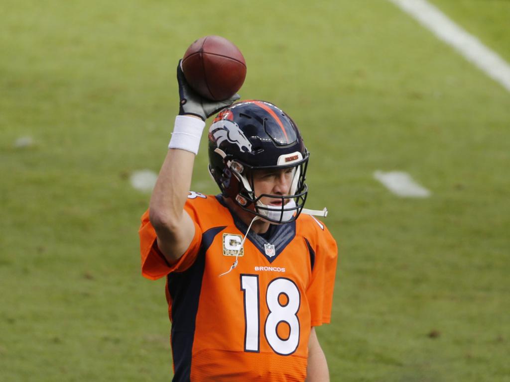 Manning schreibt NFL-Geschichte