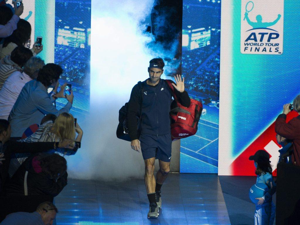 Federer und Djokovic vor ihrem Masters-Duell