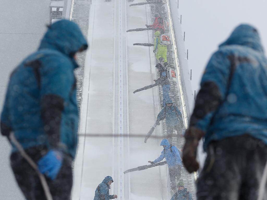 Training und Qualifikation in Klingenthal abgesagt