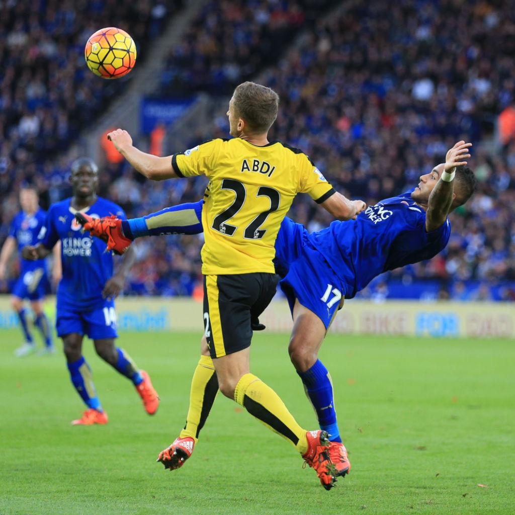 Leicester Stürmer Jamie Vardy trifft zum zehnten Mal in Serie