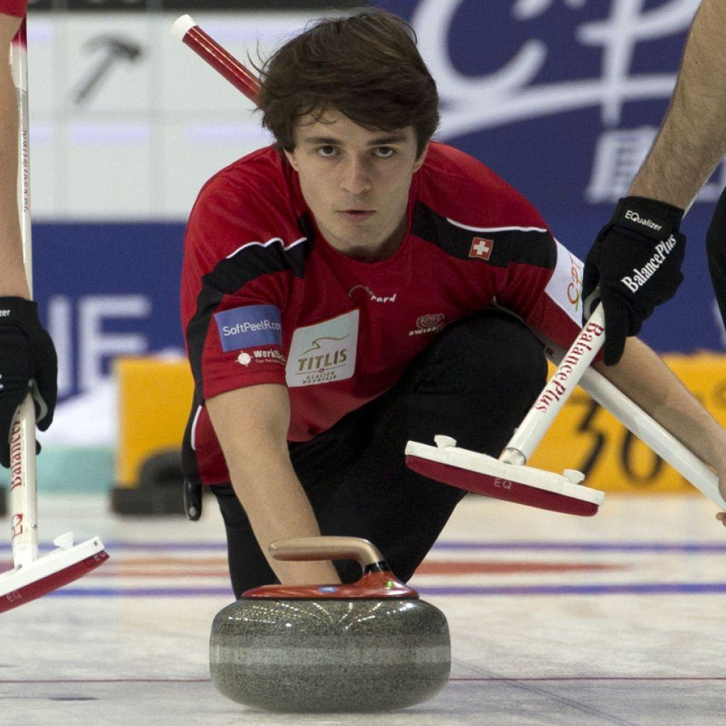 Der erste Sieg für die Schweizer Curler