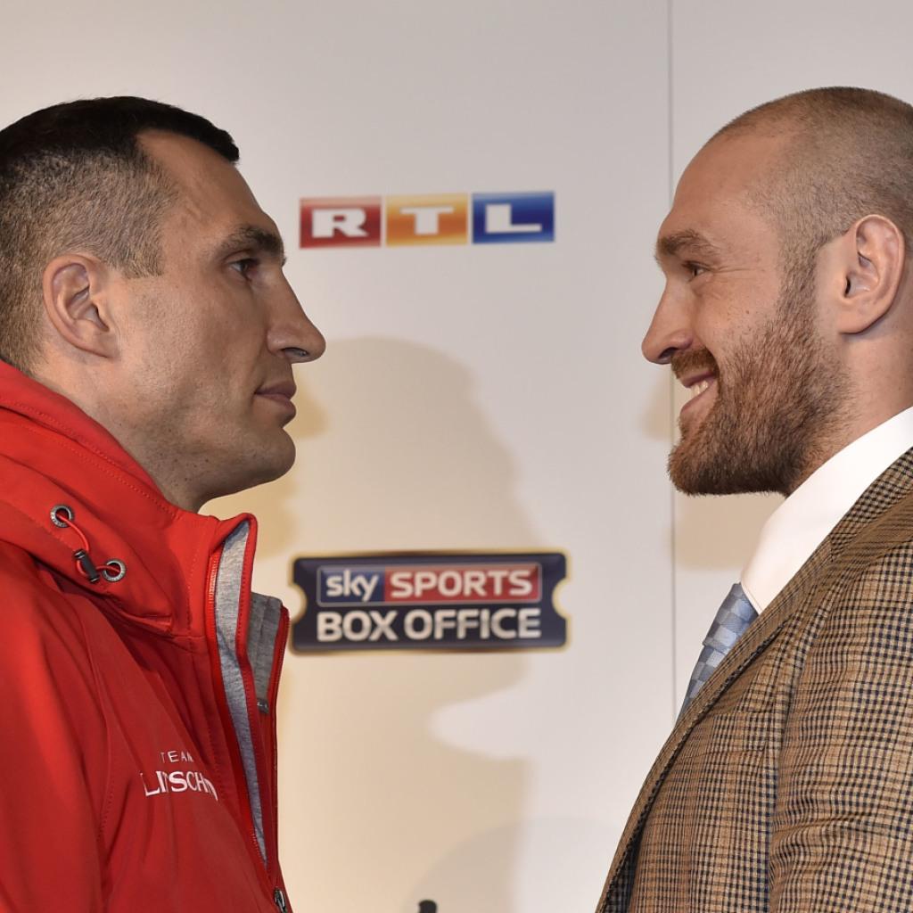 Tyson Fury fordert Schwergewichts-Weltmeister Wladimir Klitschko