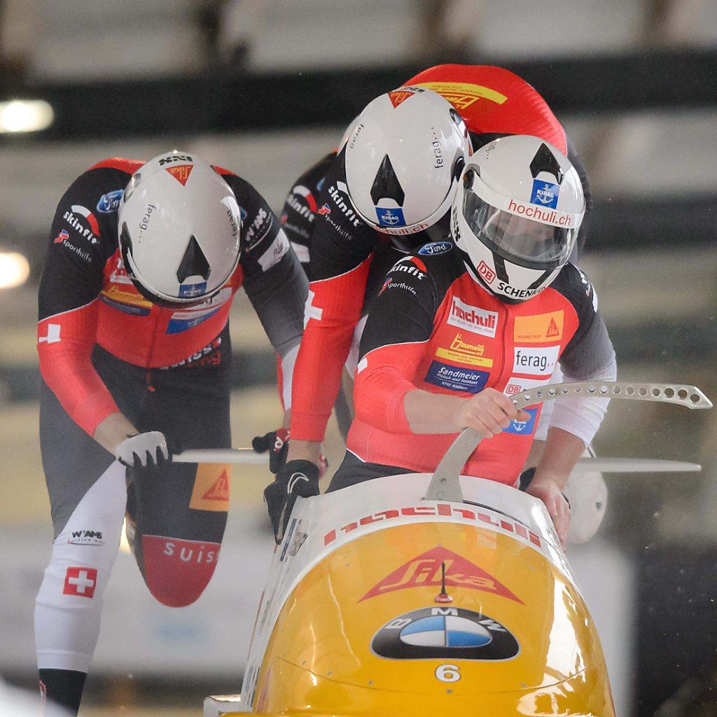 Rico Peter fährt als Vierter am Weltcup-Podest vorbei