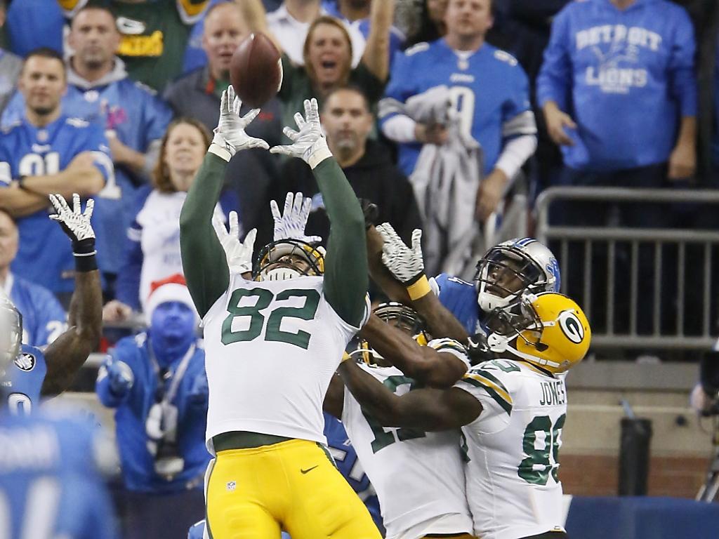 Green Bay Packers drehen Partie mit letztem Spielzug