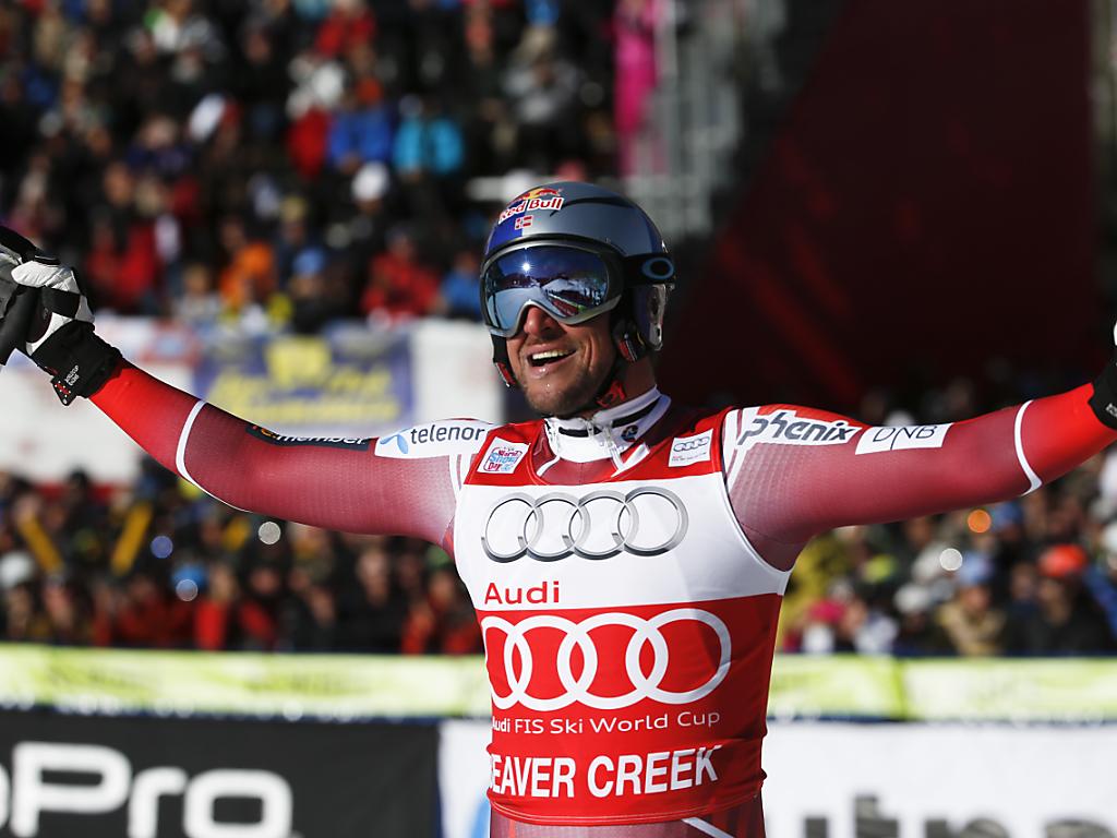 Svindals dritter Sieg im dritten Speed-Rennen des Winters