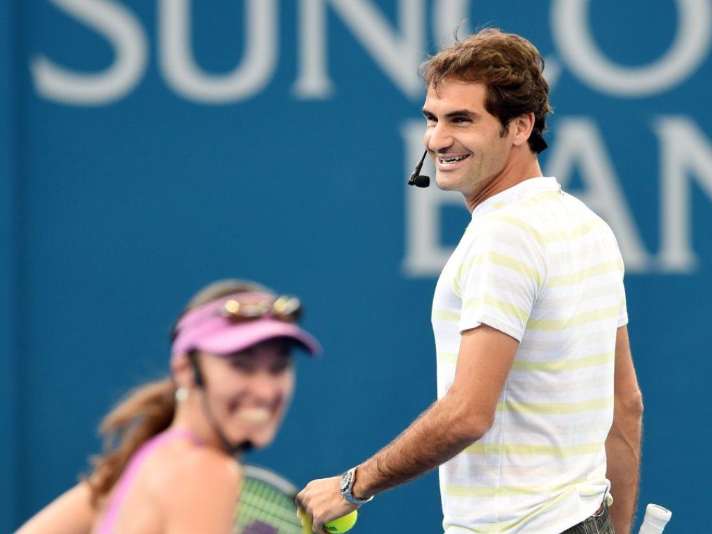 Federer und Hingis spielen in Rio Doppel
