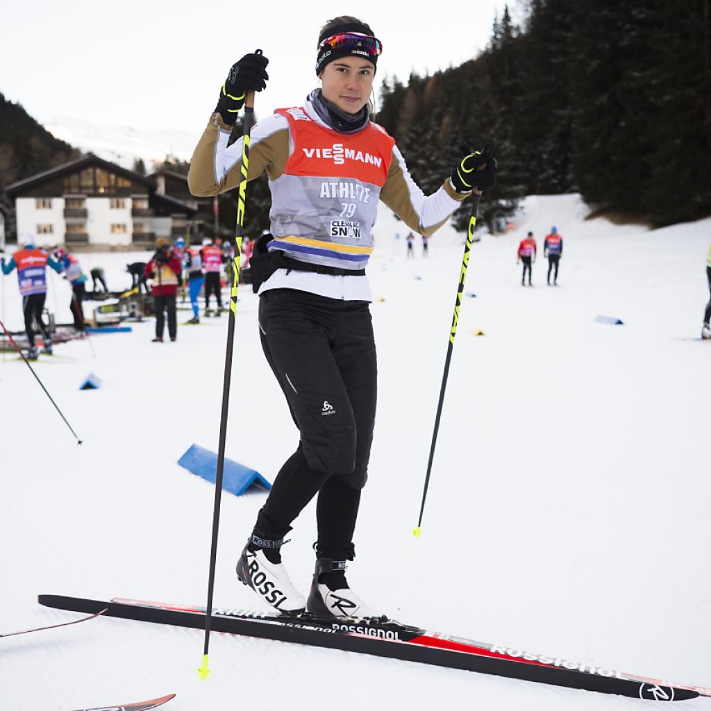 Roman Schaad läuft beim Sprint in Davos in die Halbfinals