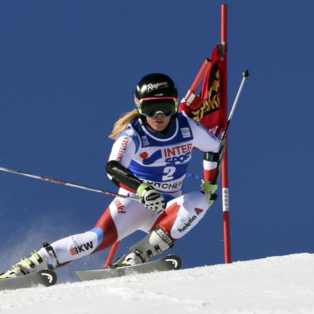 Lara Gut erneut stark: Platz 2