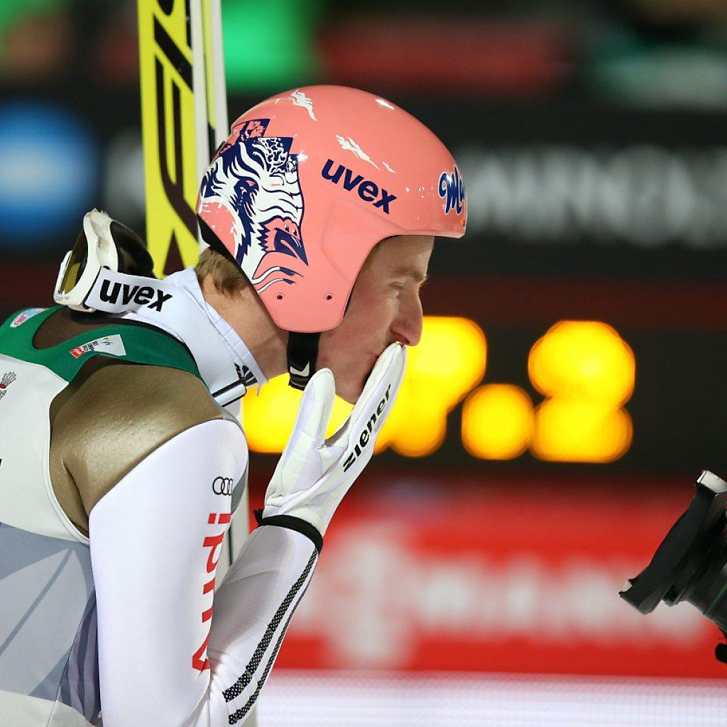 Weltmeister Severin Freund erster Leader der Vierschanzentournee