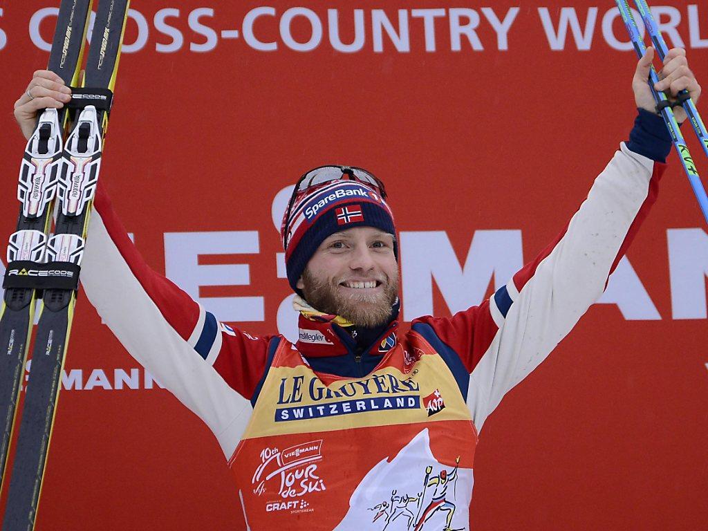 Dritter Tour-de-Ski-Triumph für Sundby