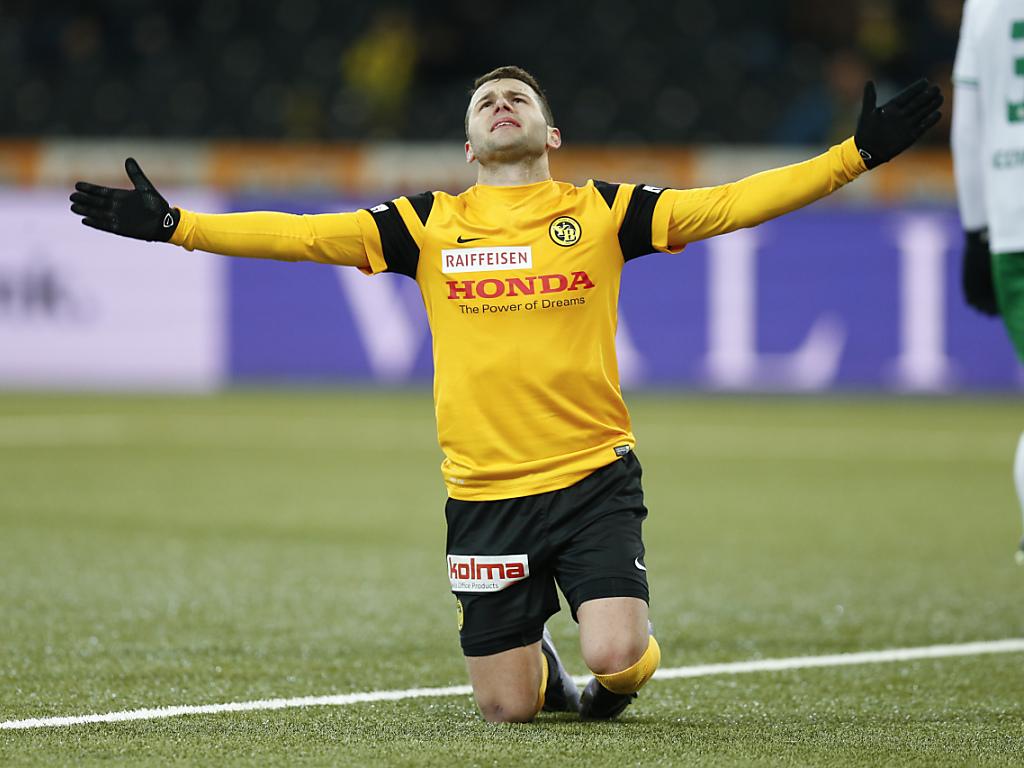Renato Steffen von YB zum FC Basel