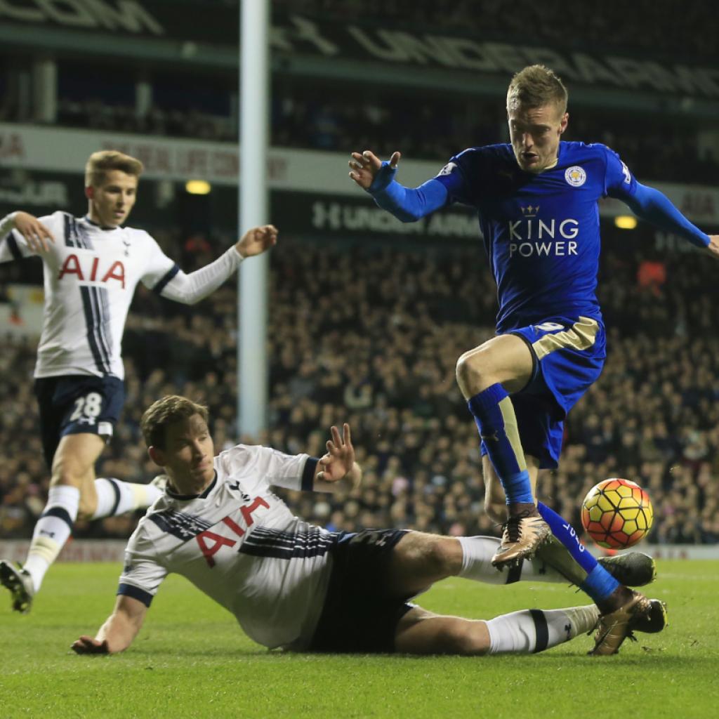 Leicester siegt bei Tottenham