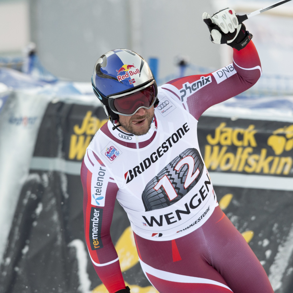 Jansrud gewinnt am Lauberhorn vor Svindal