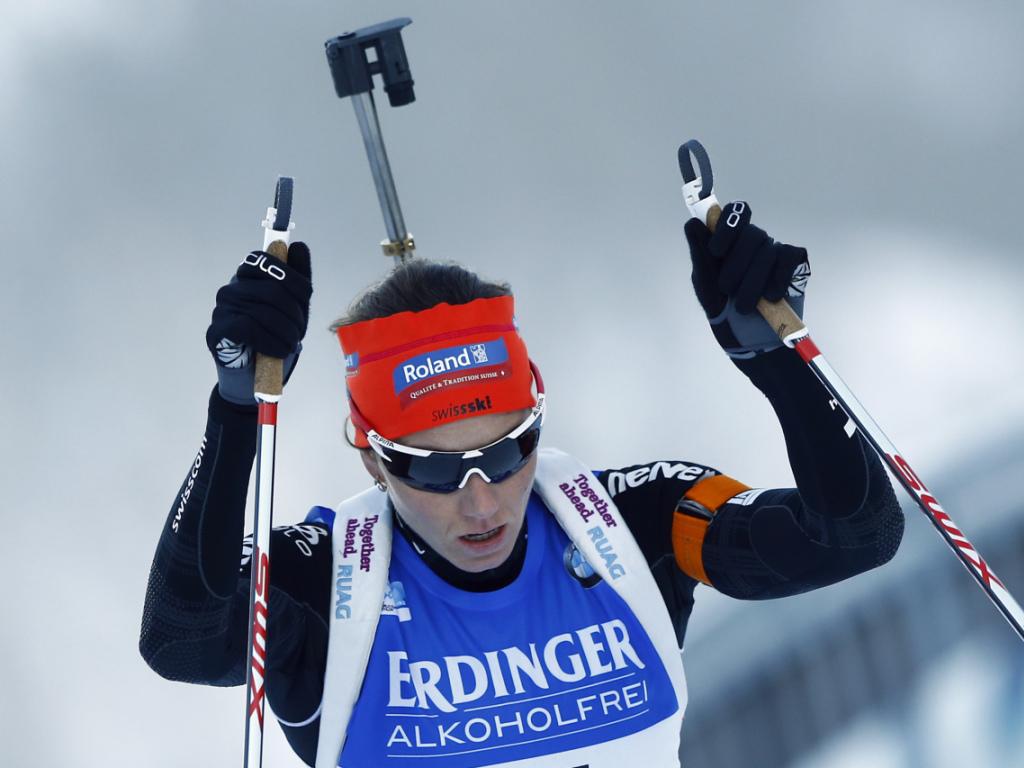 Gasparin in Ruhpolding auf dem 13. Platz