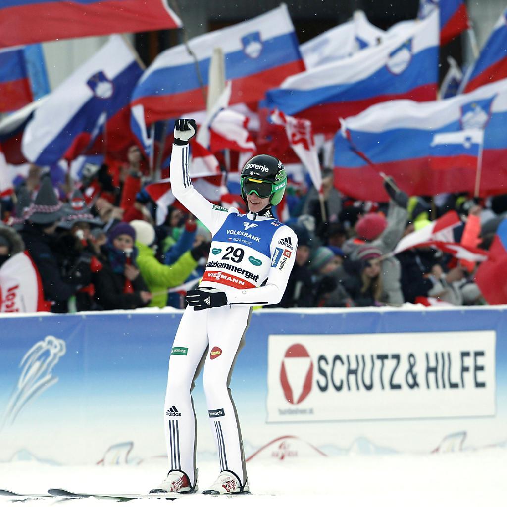 Der Slowene Peter Prevc ist Skiflug-Weltmeister