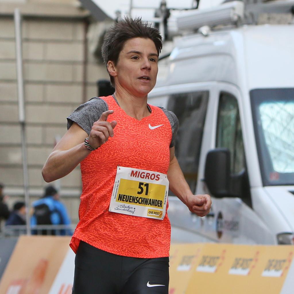 Maja Neuenschwander läuft in Tokio