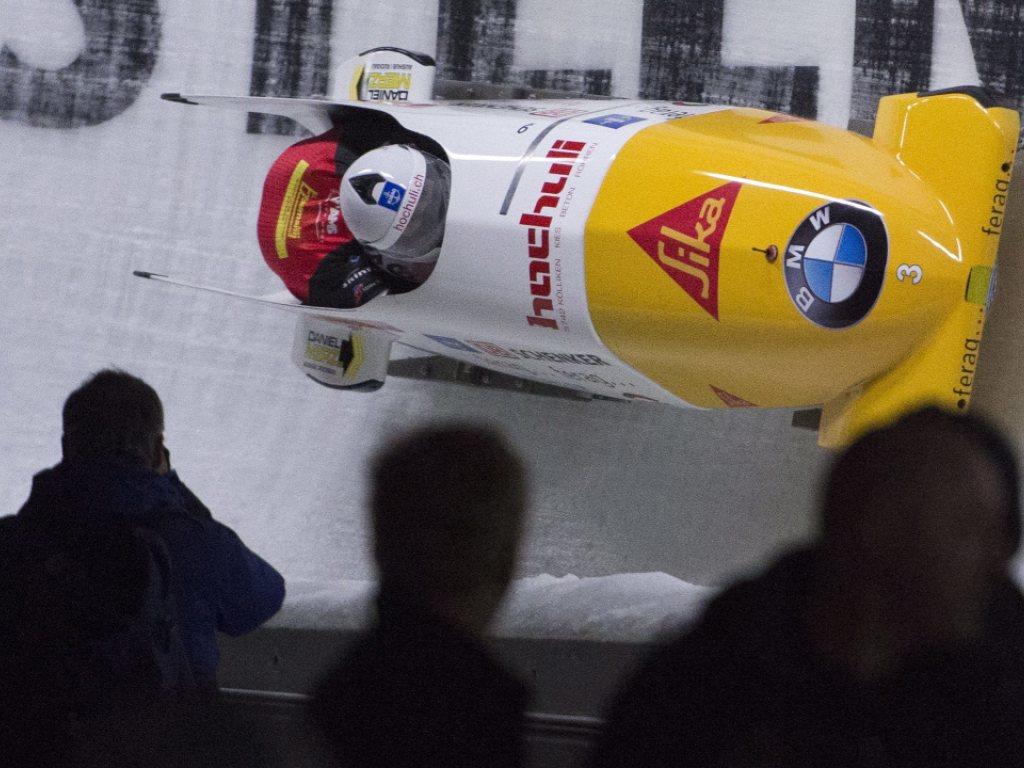 Peter/Amrhein im zweiten Rennen Siebte