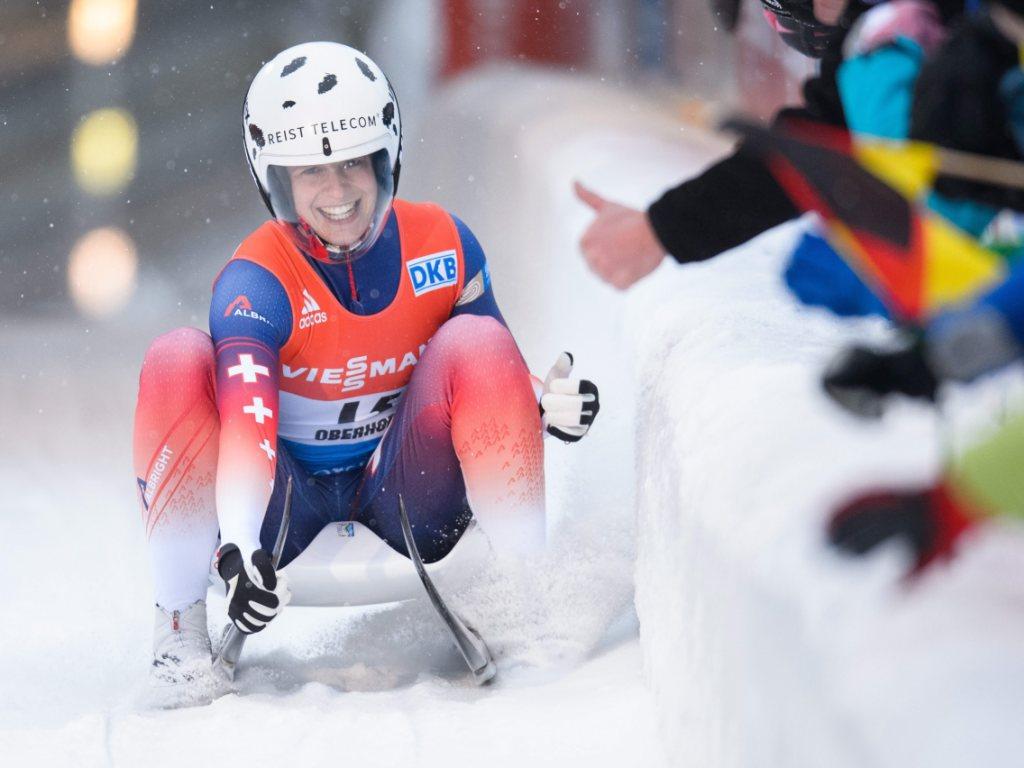 Martina Kocher sensationell Weltmeisterin im Sprint