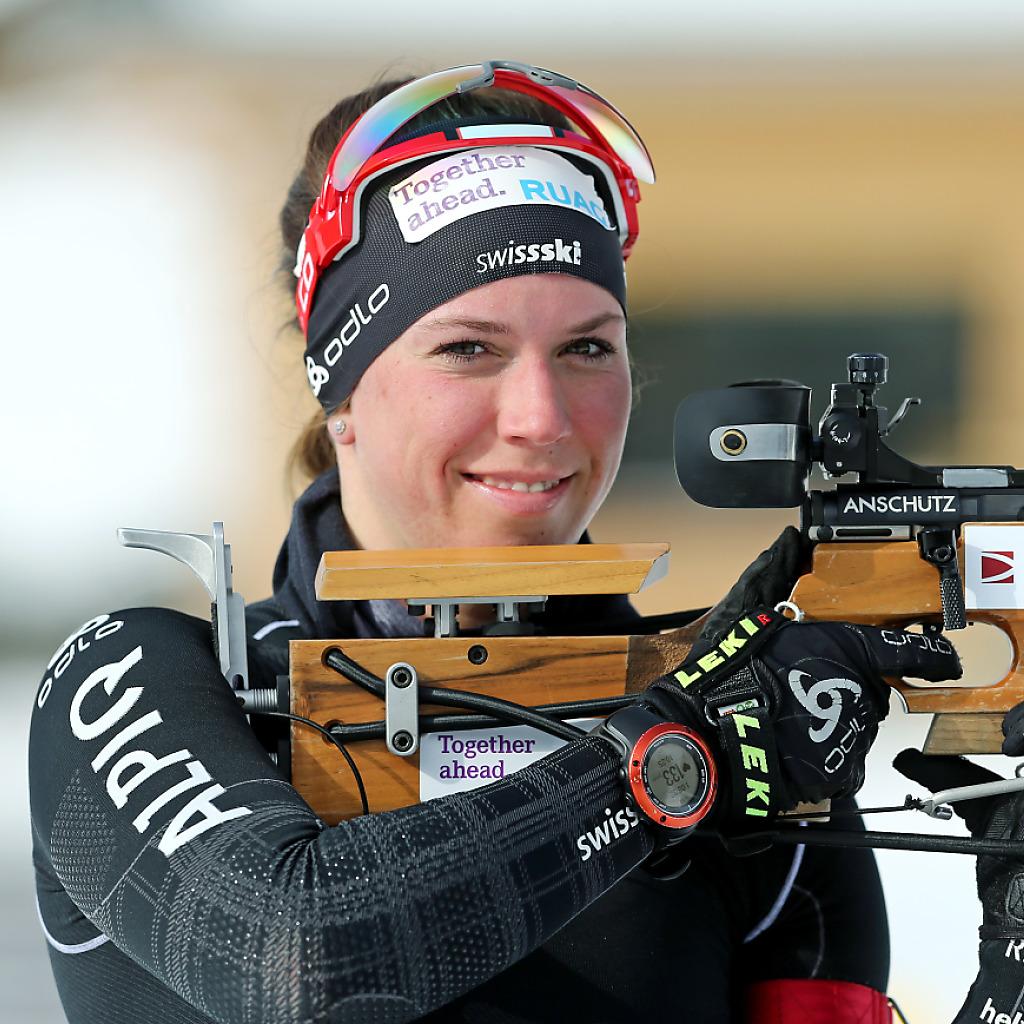 Lena Häcki bei Junioren-WM auf dem Podest