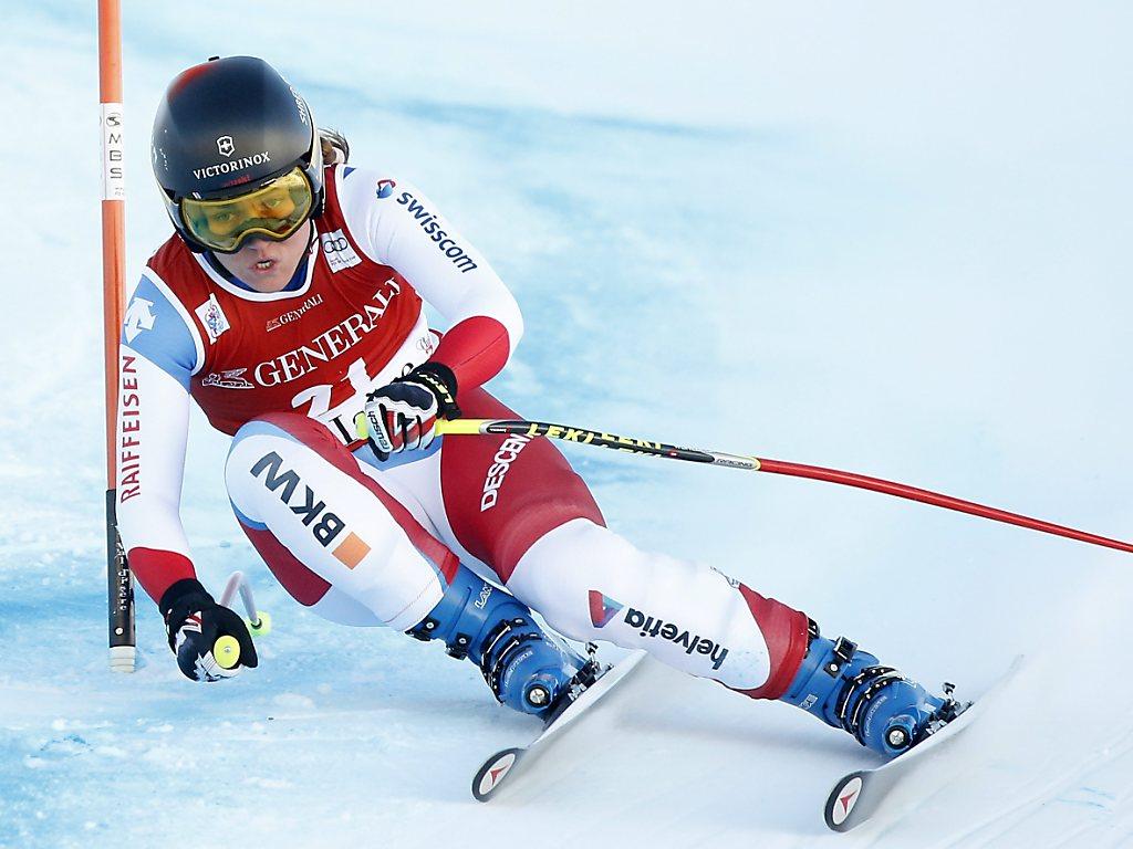 Fabienne Suter in Garmisch nur von Lindsey Vonn geschlagen