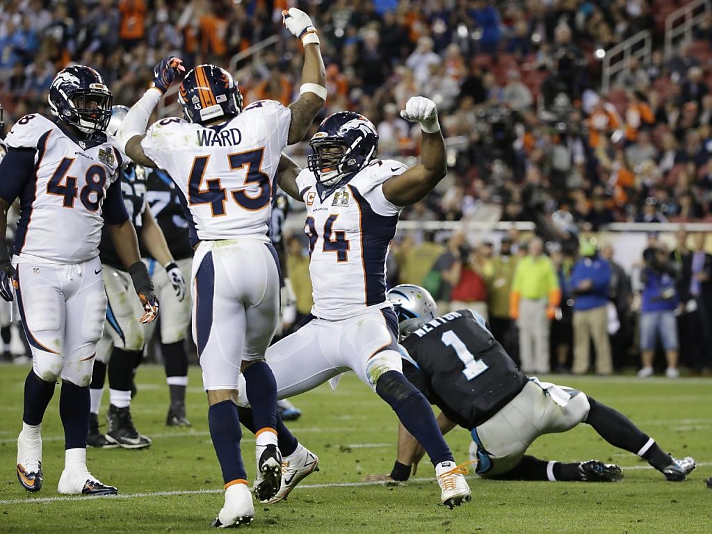 Denver Broncos gewinnen die 50. Super Bowl