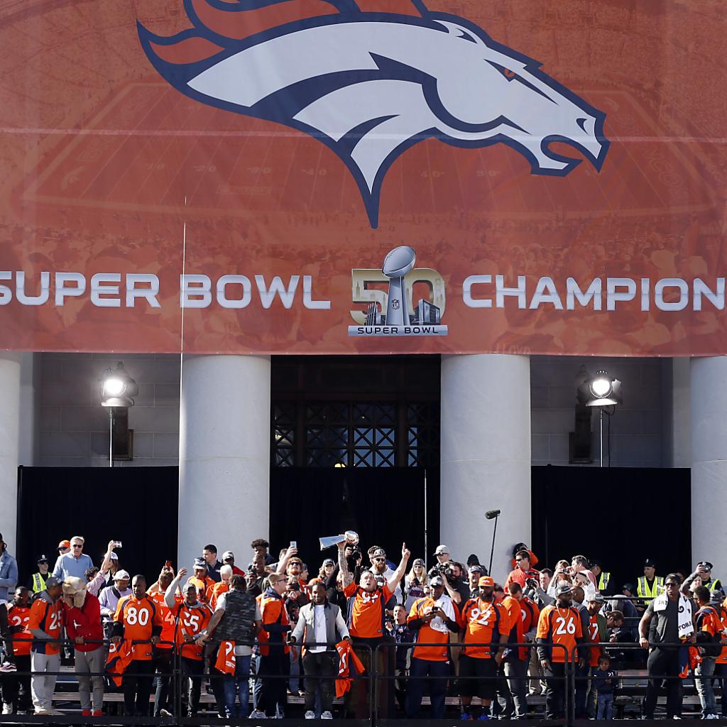 Denver Broncos frenetisch gefeiert