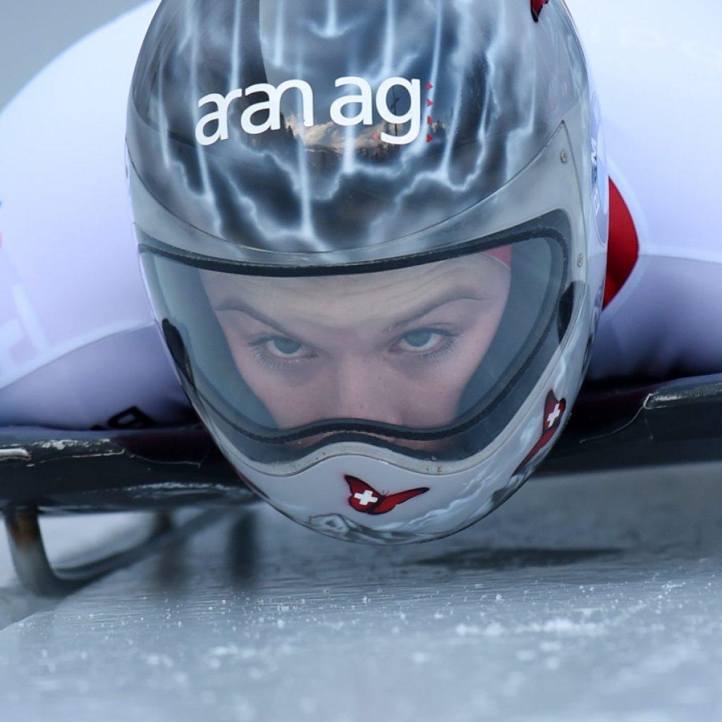 Gilardoni beim Weltcup-Finale auf dem Podest
